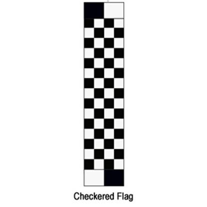 """Picture of Carefree  14' 2"""" Checkered Flag w/ W WG Vinyl Patio Awning Fabric JU159A00 00-1637"""