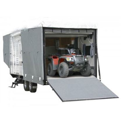 """Picture of Classic Accessories PolyPRO (TM) 3 Polypropylene Cover For 32'-36' L x 130"""" H Toy Haulers 72563 01-0016"""