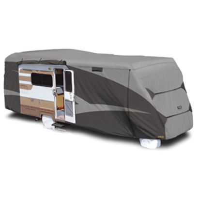 """Picture of ADCO Designer SFS Aquashed (R) Gray Fabric Cover For 23' 1""""-26' Class C Motorhomes 52843 01-0267"""