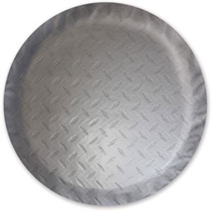 """Picture of ADCO  Steel Look 21-1/2"""" Size-O Spare Tire Cover 9760 01-0379"""