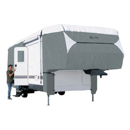 Picture of Classic Accessories PolyPRO (TM) 3 Polyester Water Resistant RV Cover For 33-37' 5th Wheel Trailers 80-349-183101-RT 01-0840