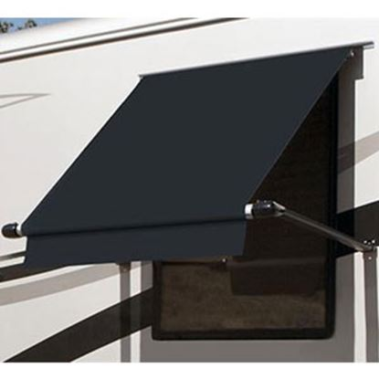 Picture of Carefree SimplyShade (R) Black 3.0' DIY Window Awning WG0304E4EB 01-0928
