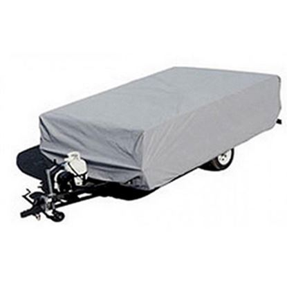 """Picture of ADCO  Gray Poly Cover For Folding/Pop-Up 16'1""""-18' Tent Trailers 2895 01-1099"""