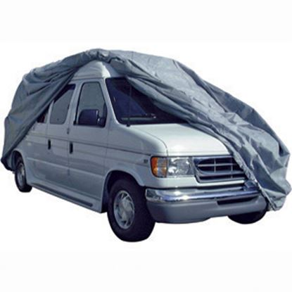 Picture of ADCO SFS AquaShed (R) Gray Fabric/Poly Regular Cover For Up To 18' Class B Motorhomes 12236 01-1124