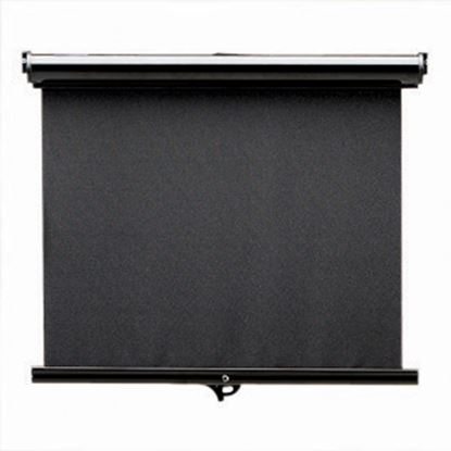 Picture of Carefree Maxi SmartVisor Manual Black Vinyl Right Side Control Windshield Shade JD036MA36-RP 01-2889