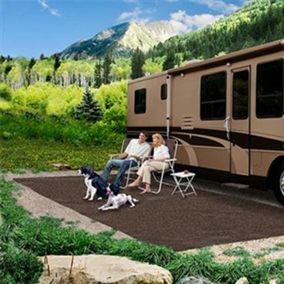 Picture of Prest-o-Fit  6' x 15' Espresso Camping Mat 2-1150 01-3042