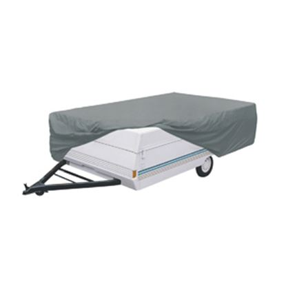 Picture of Classic Accessories PolyPRO (TM) 1 Gray Polypropylene Cover For 12'-14' Folding Camper Trailers 74403 01-3762