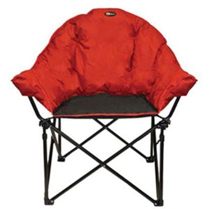 Picture of Faulkner  Burgandy/Black Bucket Chair 49579 03-0299