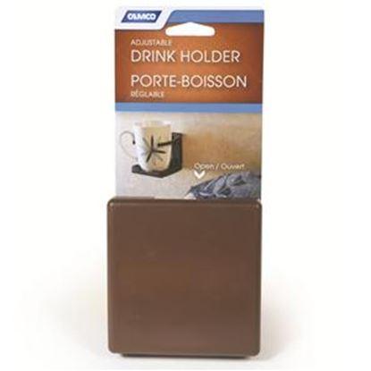 Picture of Camco  Brown Adjustable Drink Holder 44043 03-0962
