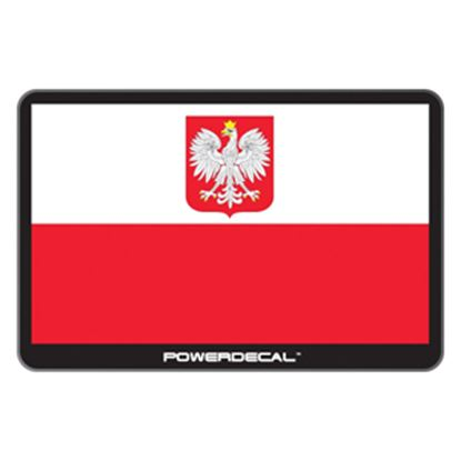 Picture of PowerDecal  Polish Flag Powerdecal PWRPOLAND 03-1776