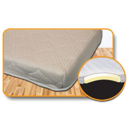 """Picture of Home & Road Hide-A-Bed 60""""x72"""" Memory Foam Mattress 258024 03-3348"""