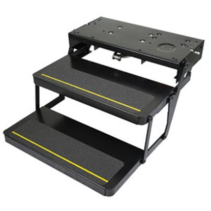 """Picture of Kwikee Series 32 24"""" x 9"""" Double Electric Entry Step 372261 04-6599"""