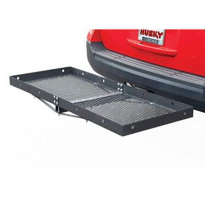 "Picture of Husky Towing  60""x23-1/2""x3"" 500 Lb Cargo Carrier for 2"" Hitch 81148 05-0049"