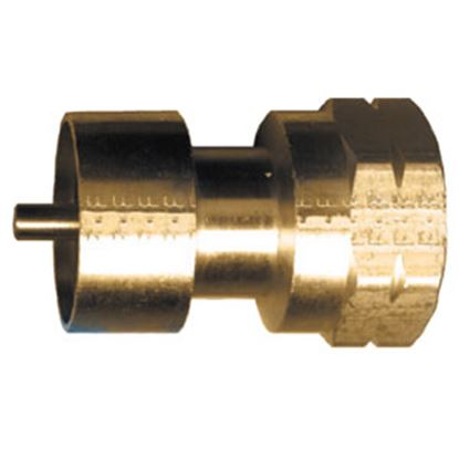 "Picture of JR Products  1""- 20 FCT x 1""- 20 MCT LP Adapter Fitting 07-30175 06-0071"