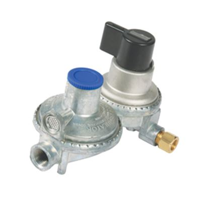 Picture of Camco  Double-Stage Automatic Changeover Regulator 59005 06-0373
