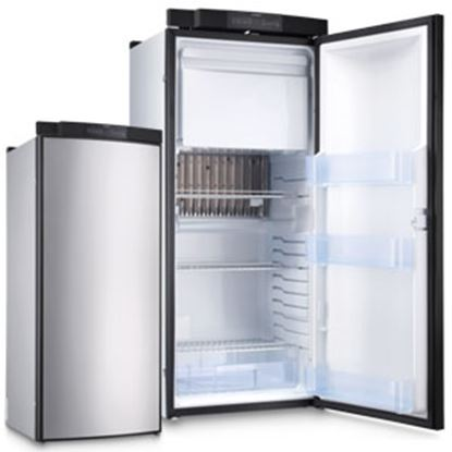 Picture of Dometic 8-Series Silver 6.7CF 3-Way Single RH Door Refrigerator/ Freezer RML8555R 08-0299