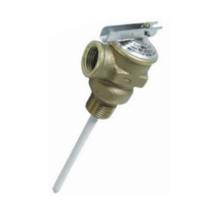 "Picture of Camco  1/2"" 150 PSI Pressure Relief Valve w/ 4"" Probe 10423 09-0200"