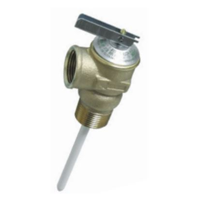 "Picture of Camco  3/4"" 150 PSI Pressure Relief Valve w/ 4"" Probe 10473 09-0201"