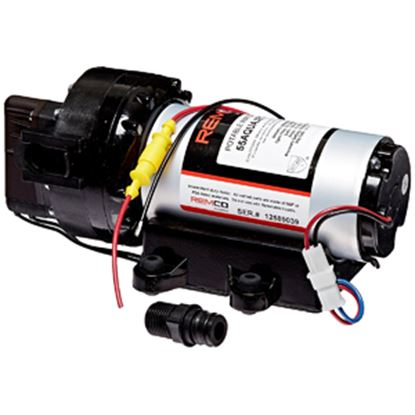 Picture of Remco PowerRV Aquajet Series 12V 5.3 GPM 60 PSI Fresh Water Pump 55AQUAJET-ARV 10-0025