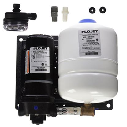 Picture of Flojet  12V 4.5 GPM 40 PSI Fresh Water Pump 02840100D 10-0111