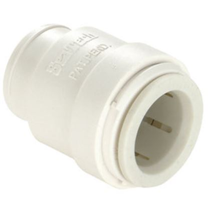 """Picture of Sea Tech 35 Series 3/4"""" CTS White Polysulfone End Stop/Cap 013545-14 10-0308"""