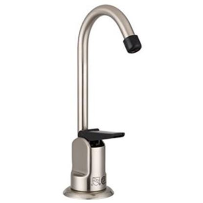 Picture of Dura Faucet  Brushed Satin Nickel Plated Drinking Fountain Faucet DF-DF350-SN 10-1166