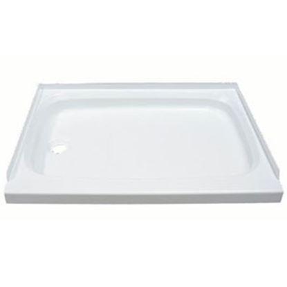 "Picture of Better Bath  Parchment 24""x 36"" Rectangular Left Hand Drain Shower Pan 342922 10-1767"