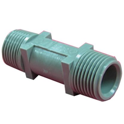 """Picture of QEST Qicktite (R) 1/2"""" MPT x 1/2"""" MPT Acetal Fresh Water Check Valve  10-3510"""