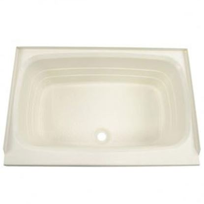 "Picture of Better Bath  Parchment 24""x36"" Center Drain ABS Standard Bathtub 209369 10-5729"