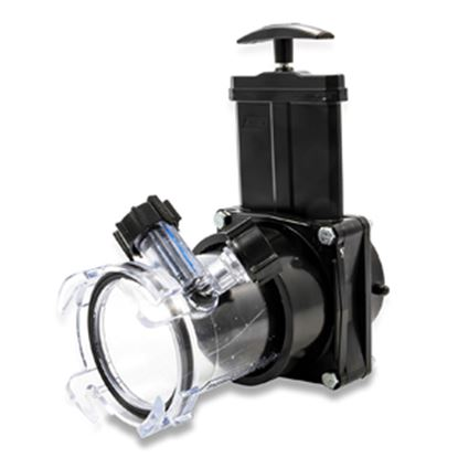 Picture of Camco Dual Flush PRO (TM) Sewer Hose Reverse Flush Valve w/ Complete Valve Assembly 39062 11-0342