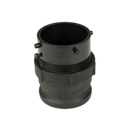 Picture of Waste Master  Male Cam To Male Bayonet Sewer Hose Connector 360785 11-1804