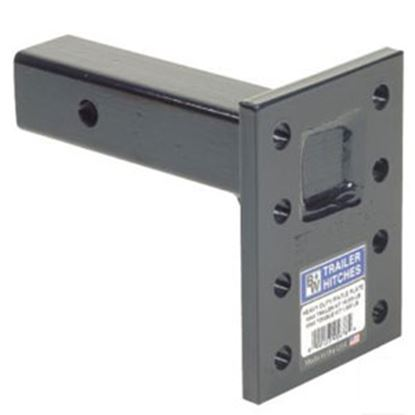 """Picture of B&W Hitches Heavy Duty 16K 3-Position 11"""" Shank Pintle Hook Receiver Mounting Plate PMHD14003 14-3407"""