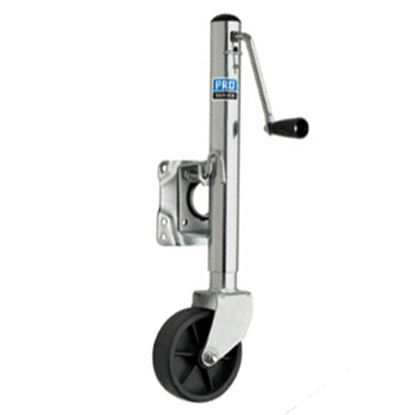 Picture of Pro Series Hitches Sidewind Silver 1000 Lb Swivel Trailer Jack EJ10000101 15-0688