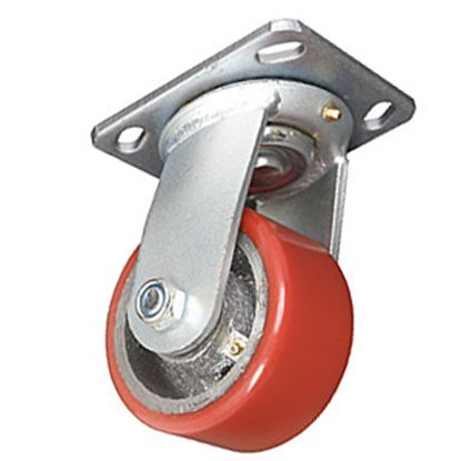 """Picture of Ultra-Fab  1 Pair 4"""" Ultra Swivel Skid Wheel 48-979011 15-1008"""