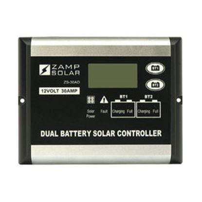Picture of Zamp Solar  Digital 500W 30A Battery Charger Controller for Zamp Solar 12V Batteries  15-7096