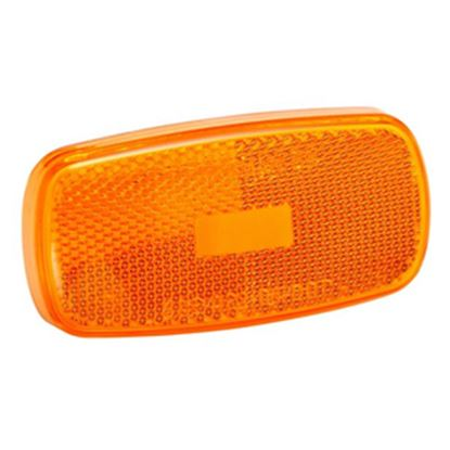 Picture of Bargman  Amber Snap-On Side Marker Light Lens For Bargman 59 Series 34-59-012 18-0588