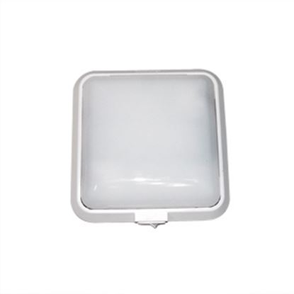Picture of Thin-Lite  White w/ Opaque Lens Double Dome Light DIST-800 18-0762