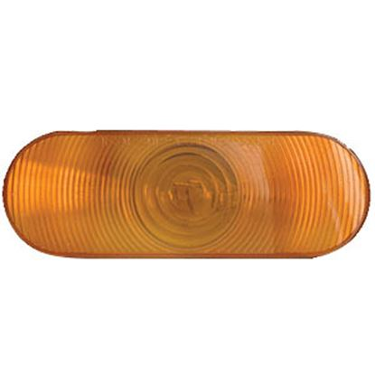 "Picture of Optronics ST70 SERIES Red 6"" Oval Stop-Turn-Tail Light Only ST-70ABP 18-1861"