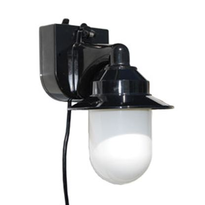 Picture of Polymer Products  White Portable Porch Light 2101-10000-P 18-1903