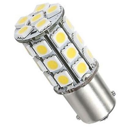 Picture of Green LongLife  1076 Style Natural White 250LM Multi LED Light Bulb 25006V 18-4305