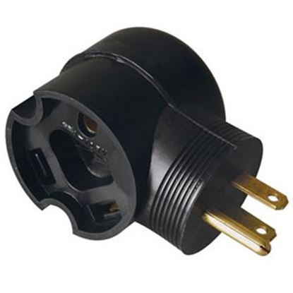 Picture of Surge Guard  15M/30F 90 Deg Power Cord Adapter 095247508 18-7673
