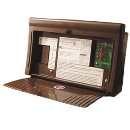 Picture of WFCO 8700 Series 25A Brown Power Converter WF-8725-P 19-0581