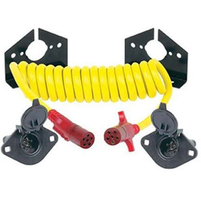 Picture of Hopkins Endurance (TM) 6-Round To 6-Round Trailer Wiring Connector Adapter w/8' Wire 47056 19-1823