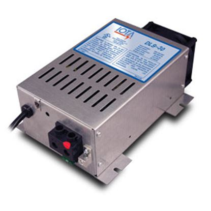 Picture of IOTA DLS Series 400W / 30A Converter/Charger w/ Short Circuit Protection DLS-30/IQ4 19-2786