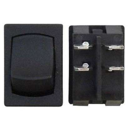 Picture of Diamond Group  Black 125V/ 16A DPST Rocker Switch For Water Pumps DG228VP 19-2927