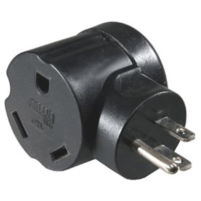"""Picture of Arcon  18""""L 30A To 15A Flat Wire Power Cord Adapter 14081 19-3352"""