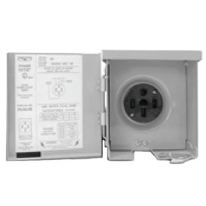 Picture of Parallax  120V/ 30A Single Receptacle PG-U013C 19-4285