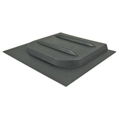 "Picture of Valterra E-Series 12-1/8""H X 10-3/4""W Black Plastic Screen Door Slide W/Stop A77016 20-0153"