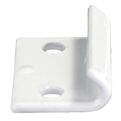 Picture of JR Products  White Folding Camper Door Catch 10855 20-0168