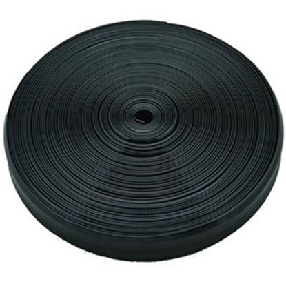"Picture of AP Products  Black Vinyl 1""W X 50'L Trim Molding Insert 011-330 20-1367"